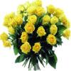 36 rose gialle