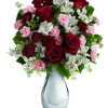 rose gigli e alstroemerie